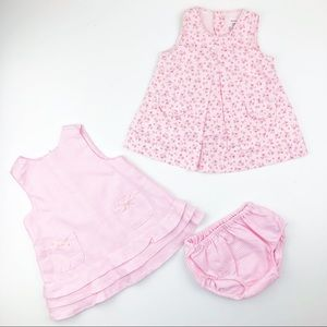 Set if Carter's Floral Spring Summer Dress